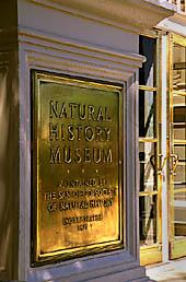 San Diego Natural History Museum formed in 1874.
