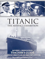 Titanic Middle School Teacher's Guide