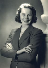 Mary Hollis Clark in her youth
