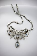 Cullinan Blue Diamond Necklace