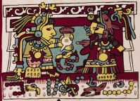 Cacao was vital to the trade empire of the Aztec people—as a luxury drink, as money, and as an offering to the gods.Credit: © The Trustees of the British Museum